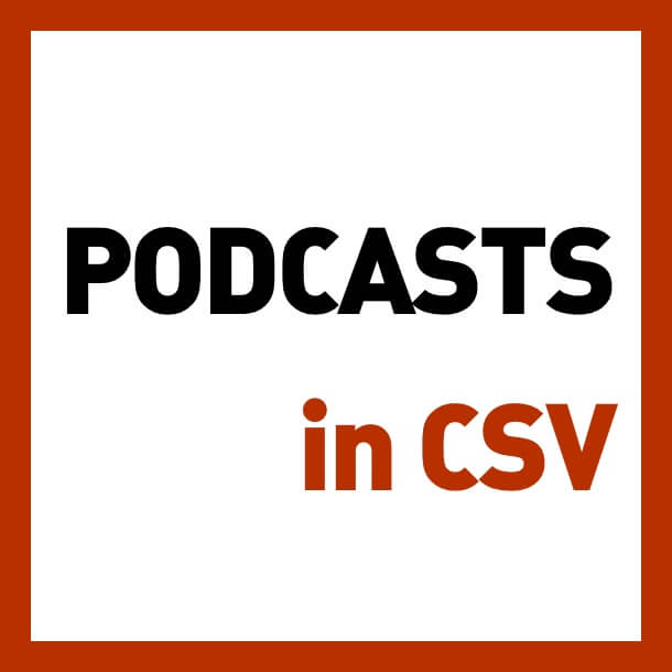 Search and export podcast meta data to CSV, with rss, email and social profiles. Best for marketing, PR, sales, journalism, and more!