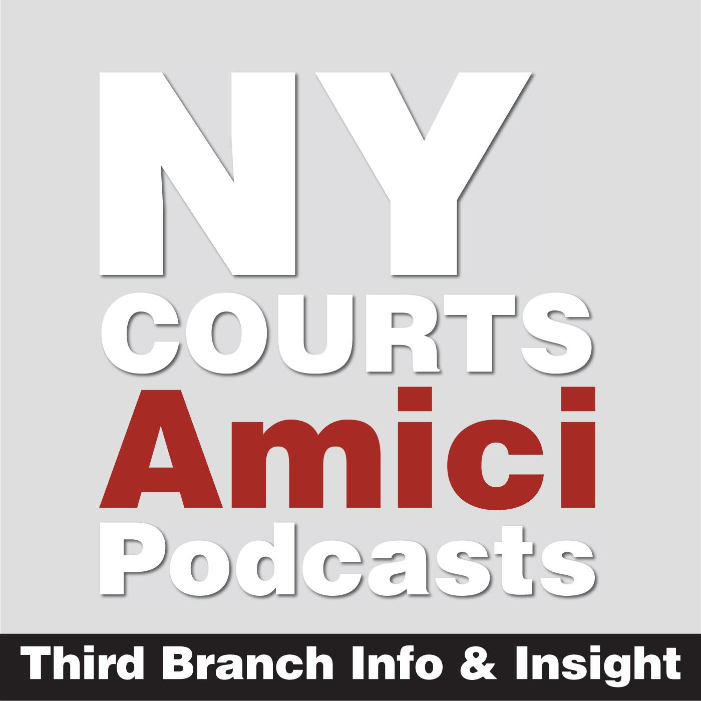 Amici: Third Branch Info & Insight (podcast) - New York UCS