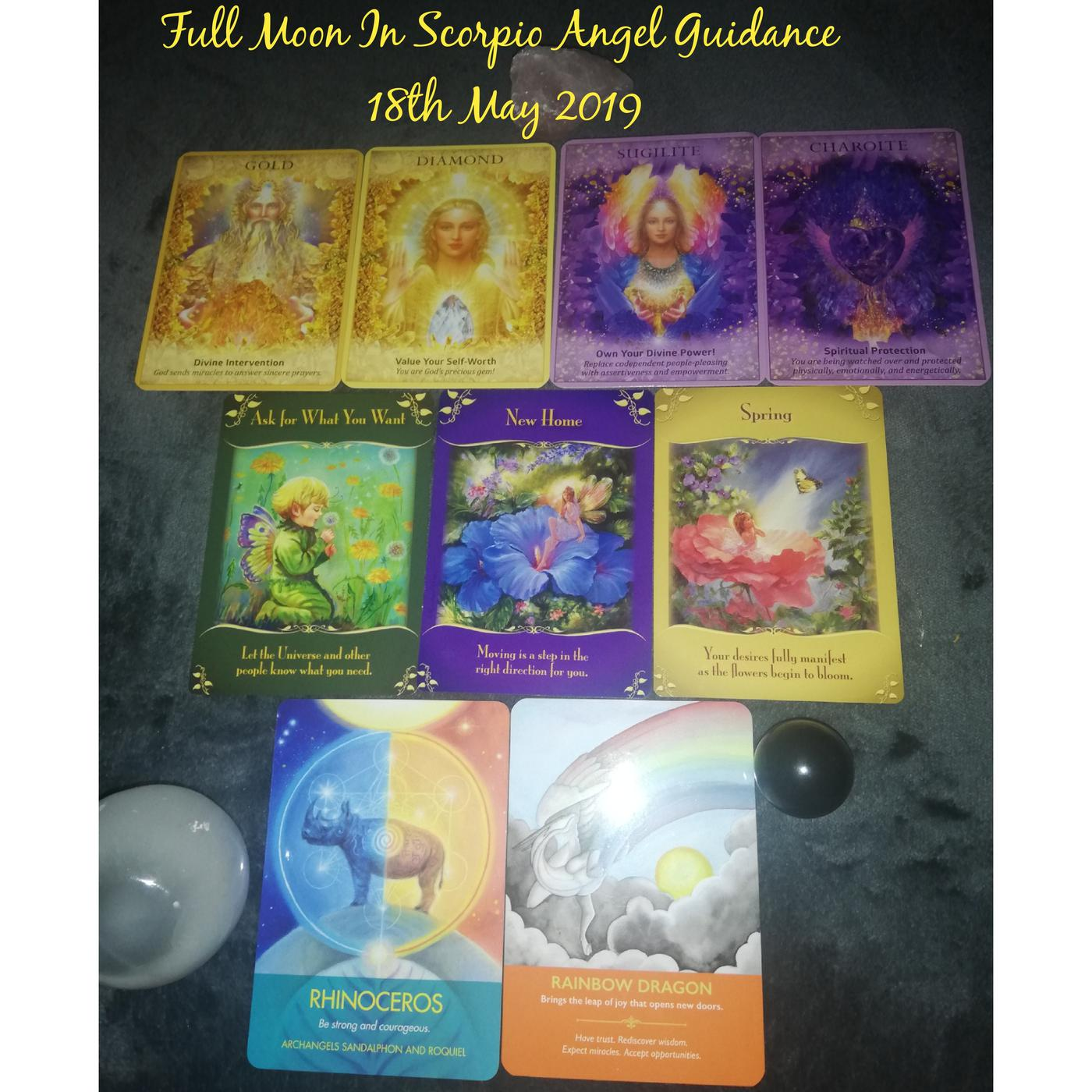 Full Moon In Scorpio ♏ Angel Guidance 18th May 2019 | Listen Notes