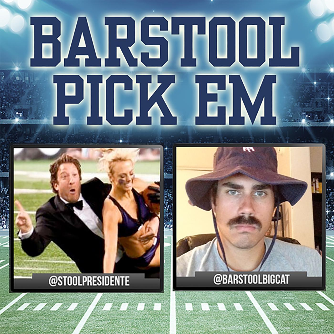 Barstool Pick Em (podcast) - Barstool Sports | Listen Notes
