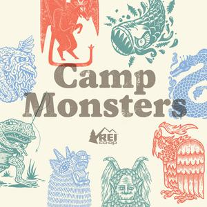 Best Fiction Podcasts (2019): Camp Monsters