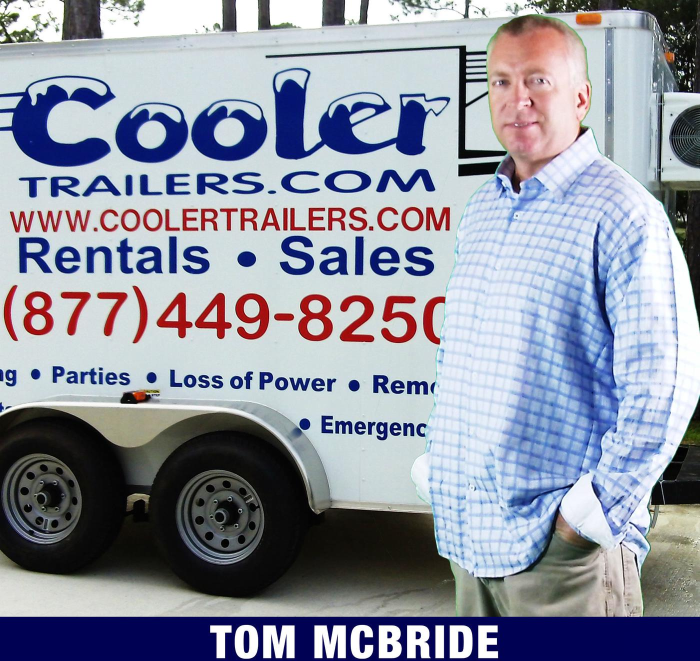 Cooler Trailers Superior Design- Small refrigerated trailers