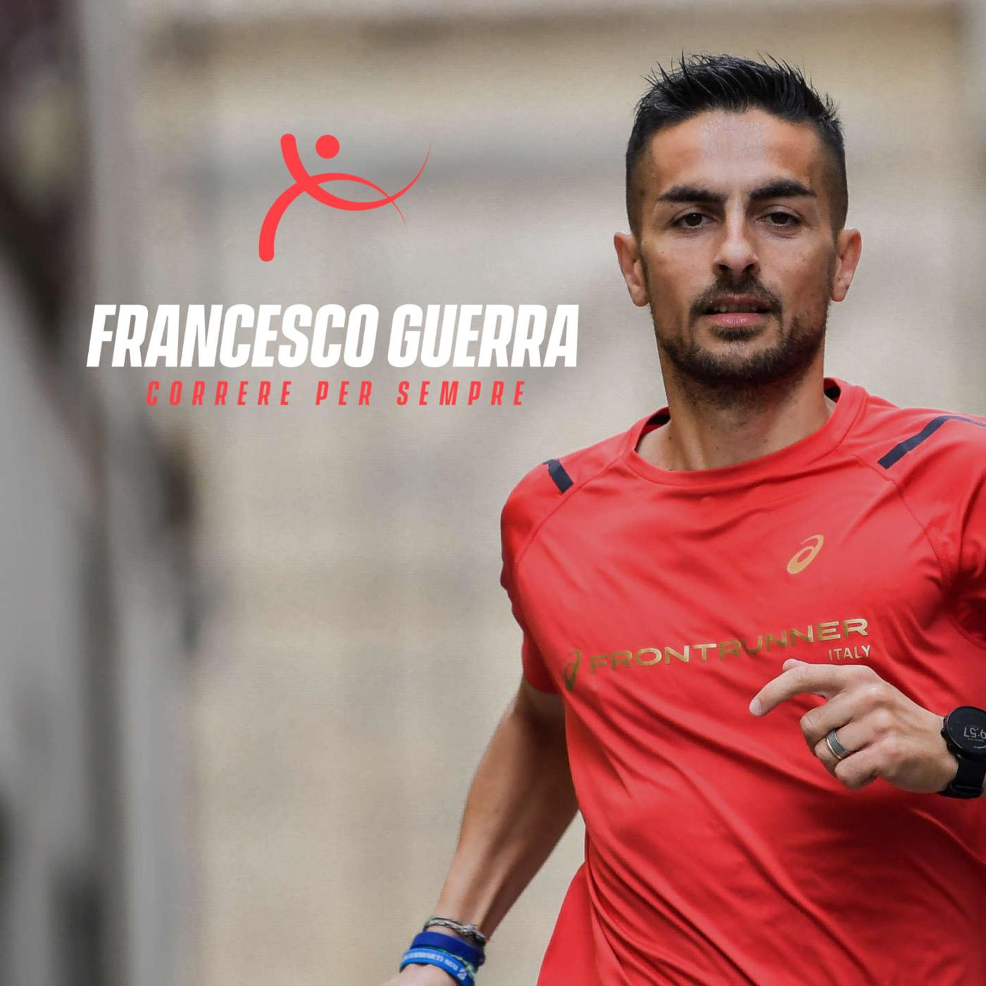 Francesco Guerra foto personale di corsa