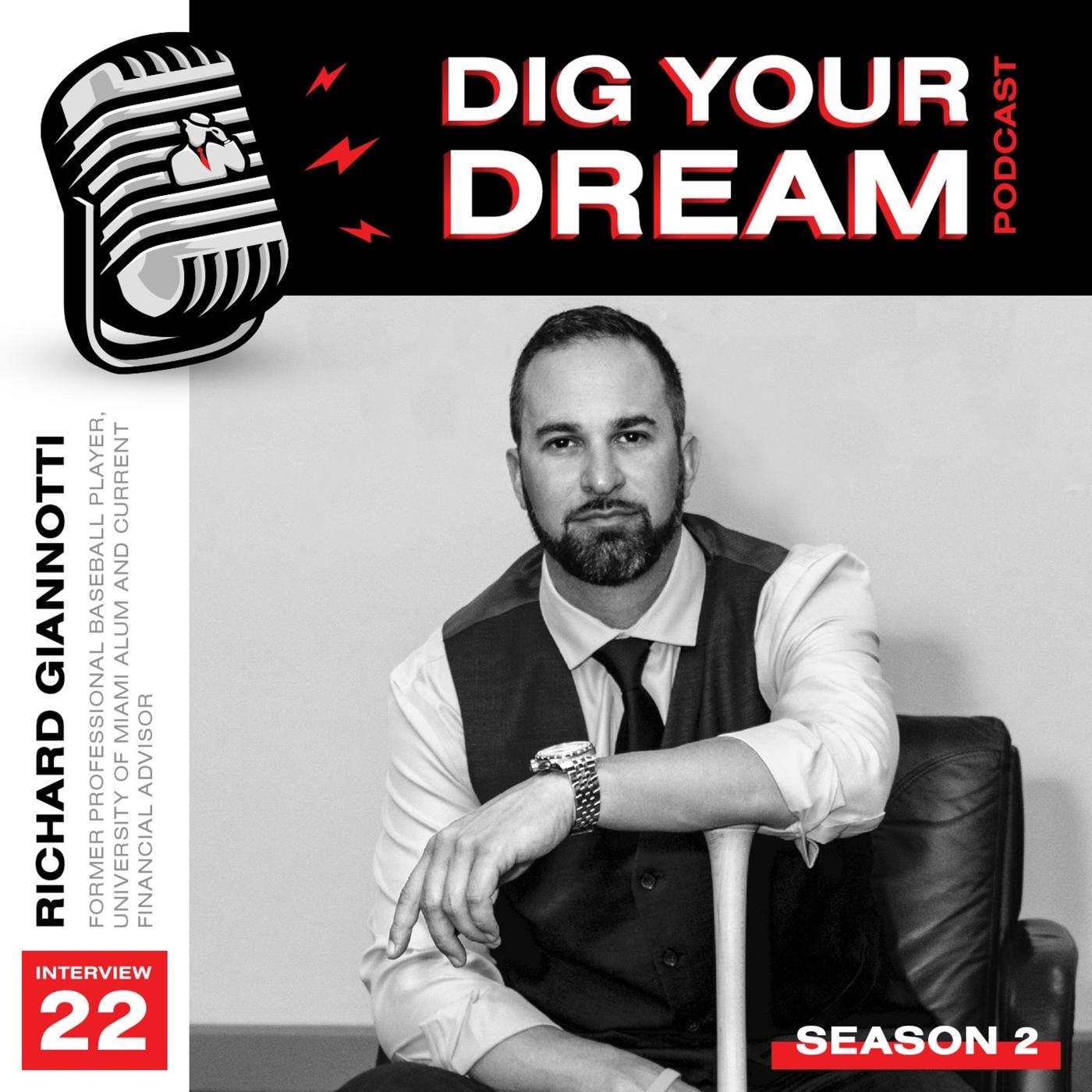 Digmi Discussion Interview 22 Richard Giannotti Dig Your Dream Podcast Listen Notes How much of richard giannotti's work have you seen? listen notes