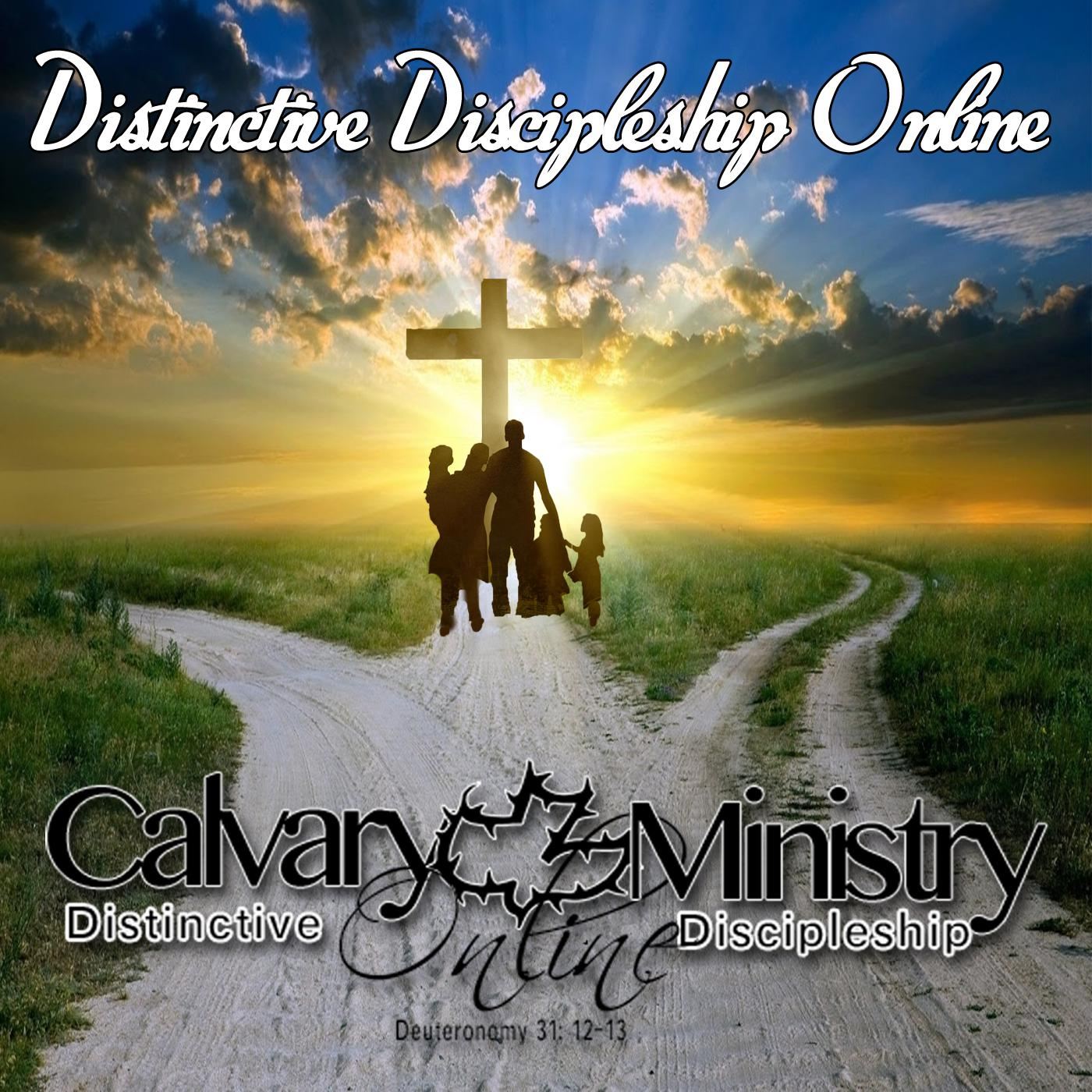 Distinctive Discipleship Podcast - Nick Covanes: Bible