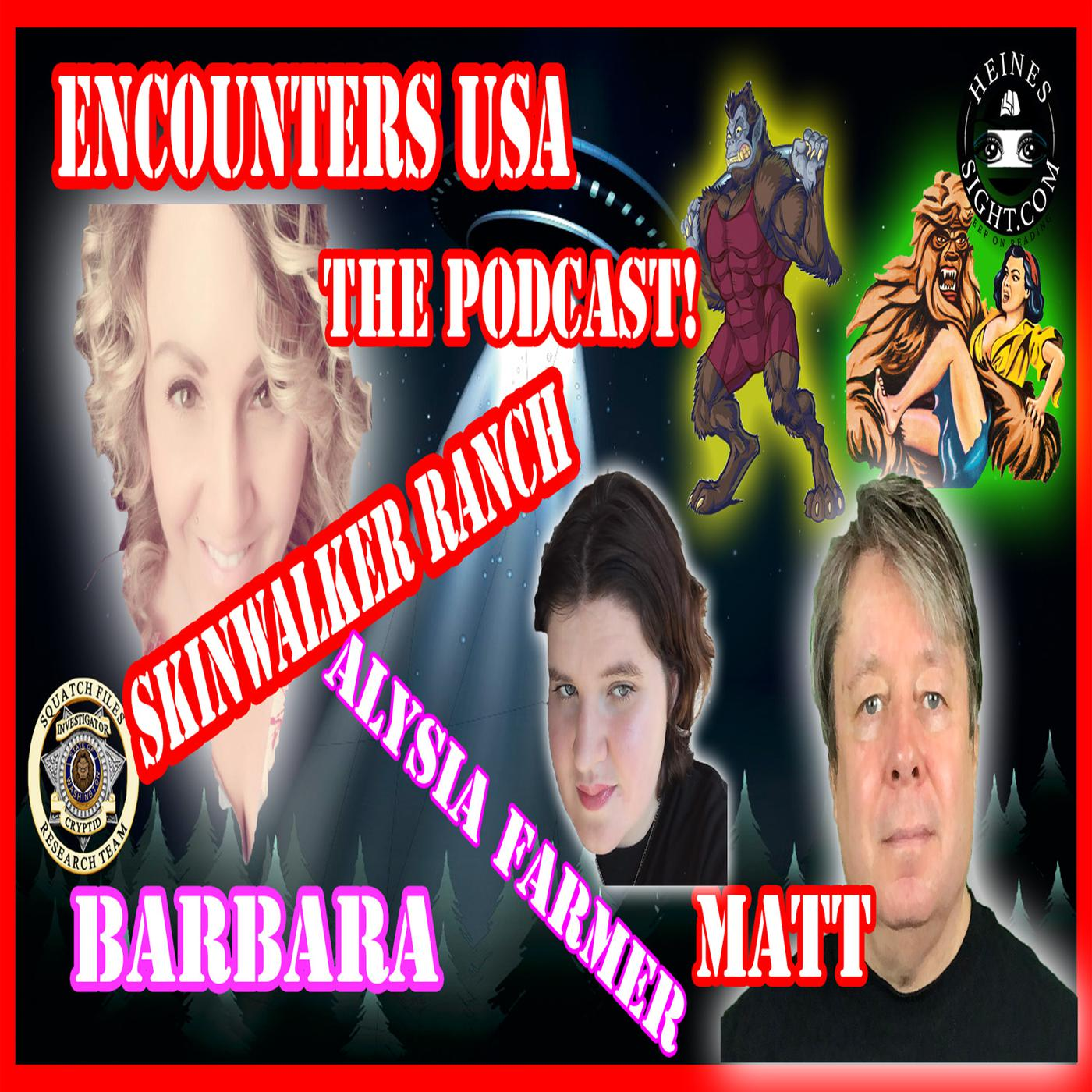 Skinwalker Ranch Portals, Aliens and Dogman - Encounters USA