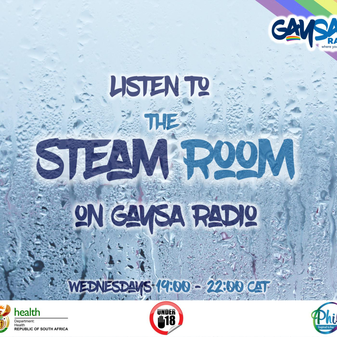 GaySA Radio Presents: The Steam Room (podcast) - GaySA Radio