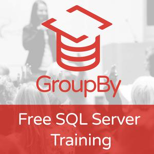 GroupBy – Free SQL Server Training