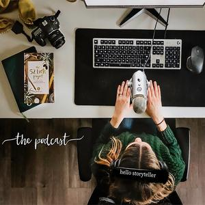 Best Visual Arts Podcasts (2019): hello storyteller podcasts