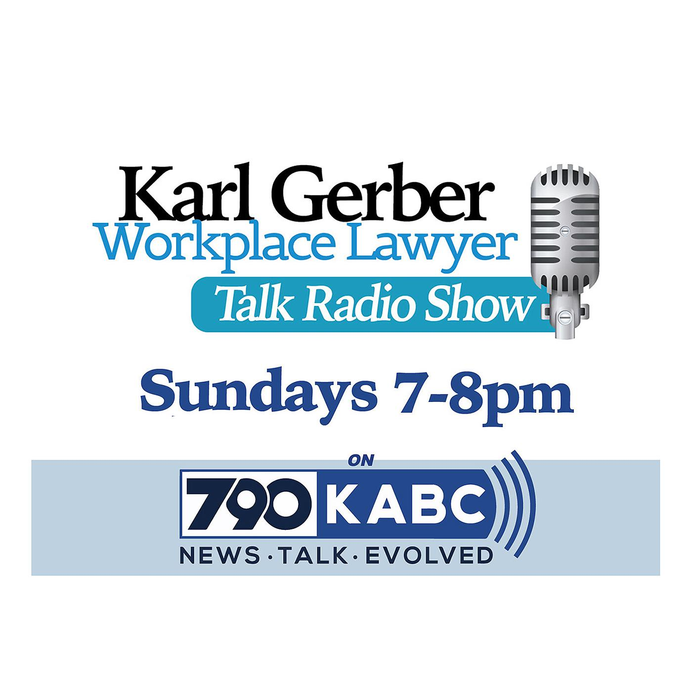 Karl Gerber Workplace Lawyer (podcast) - Karl Gerber
