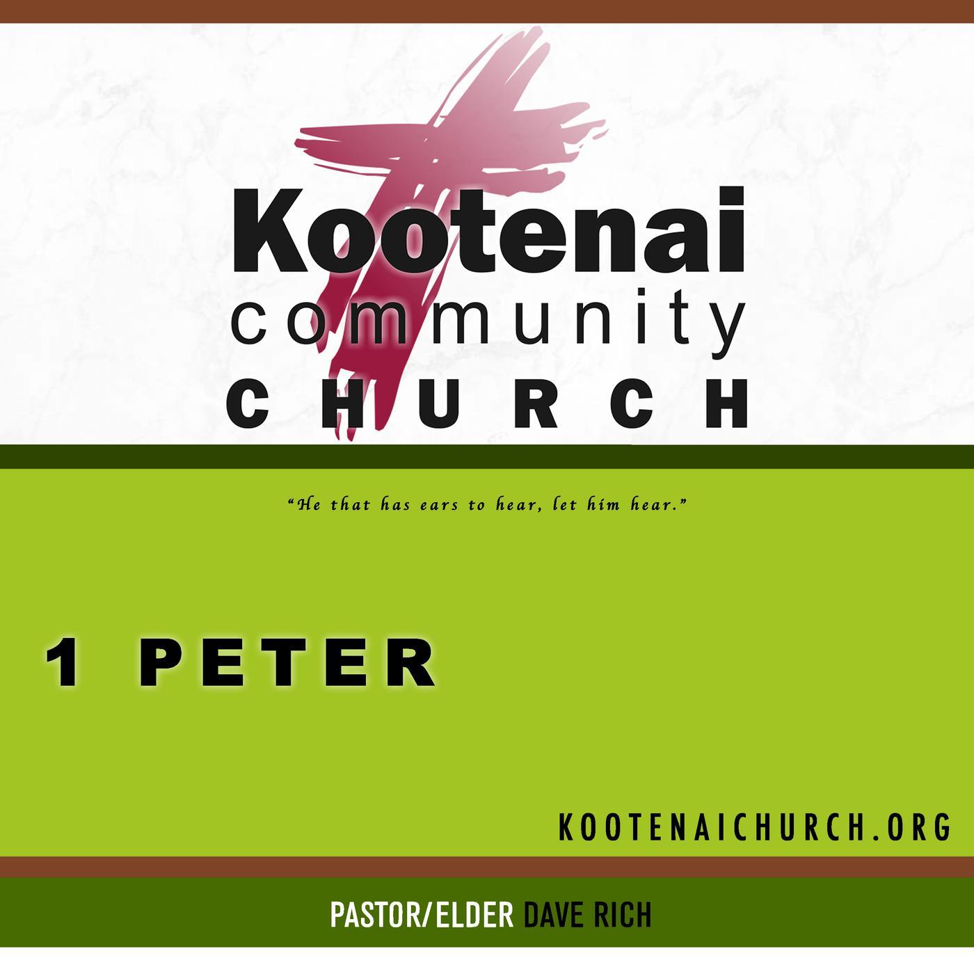 Kootenai Church: 1 Peter (podcast) - Kootenai Church: 1 Peter