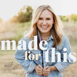Best Religion & Spirituality Podcasts (2019): Made For This with Jennie Allen