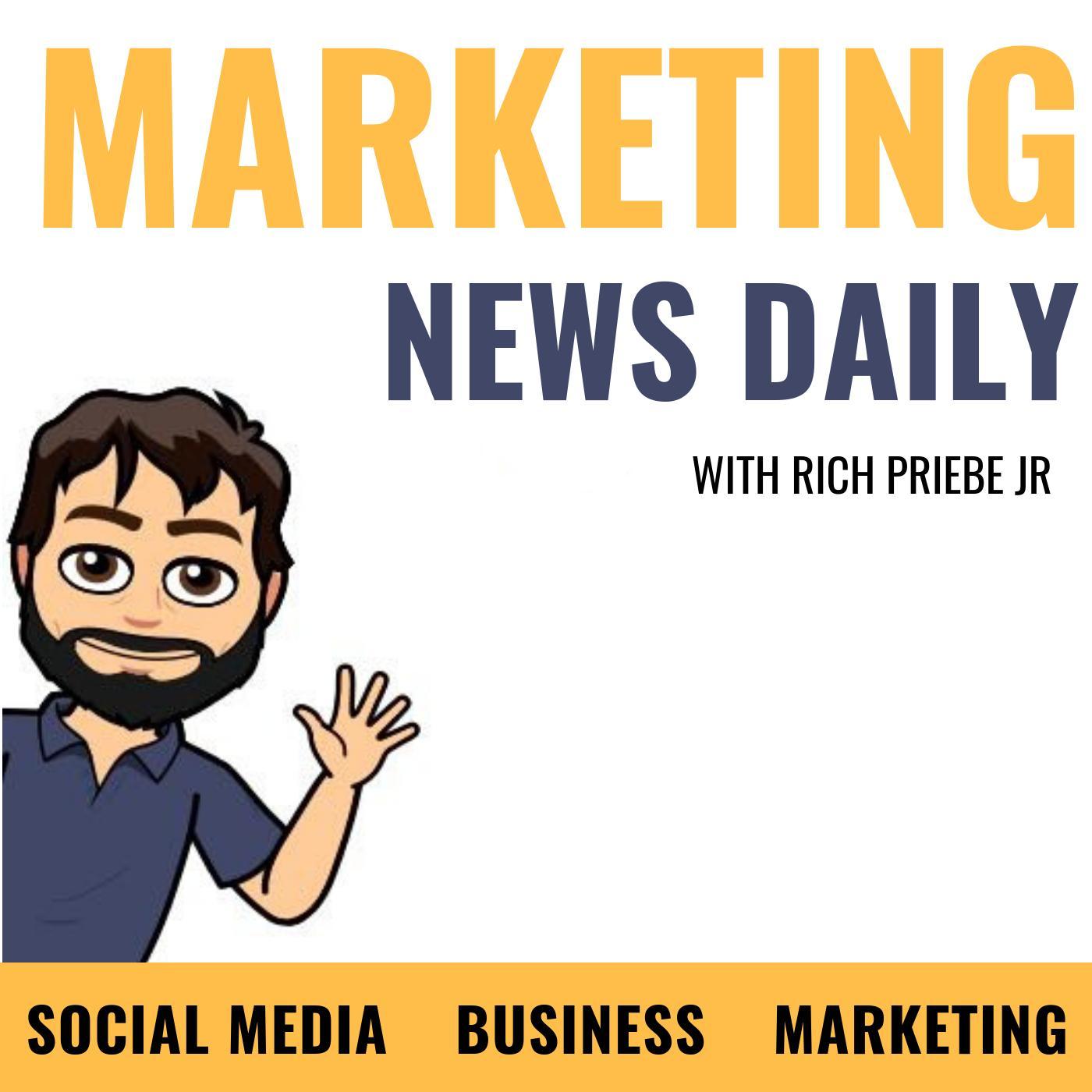 Marketing News Daily (podcast) - Rich Priebe Jr | Listen Notes