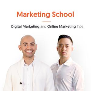 Best SEO Podcasts (2019): Marketing School - Digital Marketing and Online Marketing Tips