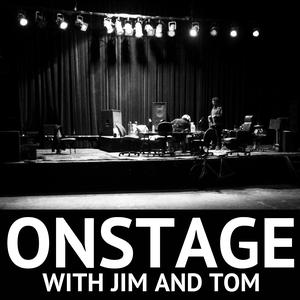 Onstage with Jim and Tom