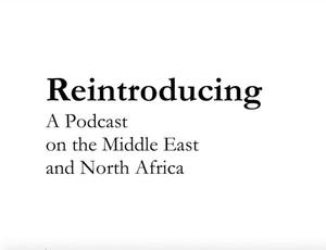 Reintroducing:  the Middle East and North Africa