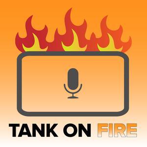 Tank on Fire