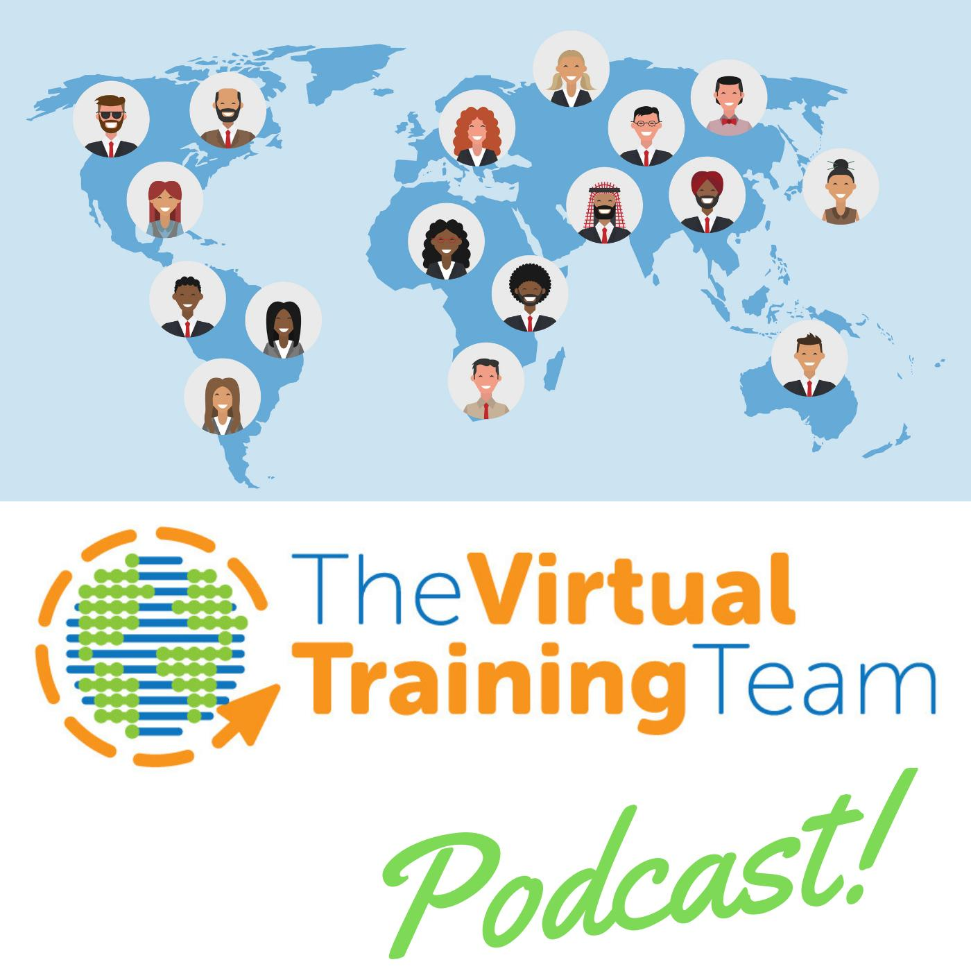 The Virtual Training Team's podcast - Catherine Nicholson