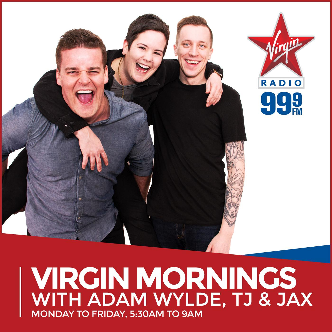 Virgin Mornings with Adam Wylde & TJ (podcast) - Adam Wylde, TJ